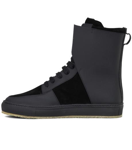 Kris Van Assche(クリスヴァンアッシュ)のLibra Black Sneaker-BLACK-K2709 詳細画像2