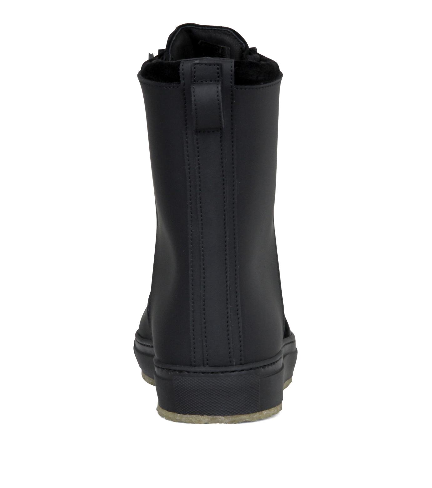 Kris Van Assche(クリスヴァンアッシュ)のLibra Black Sneaker-BLACK-K2709 拡大詳細画像3