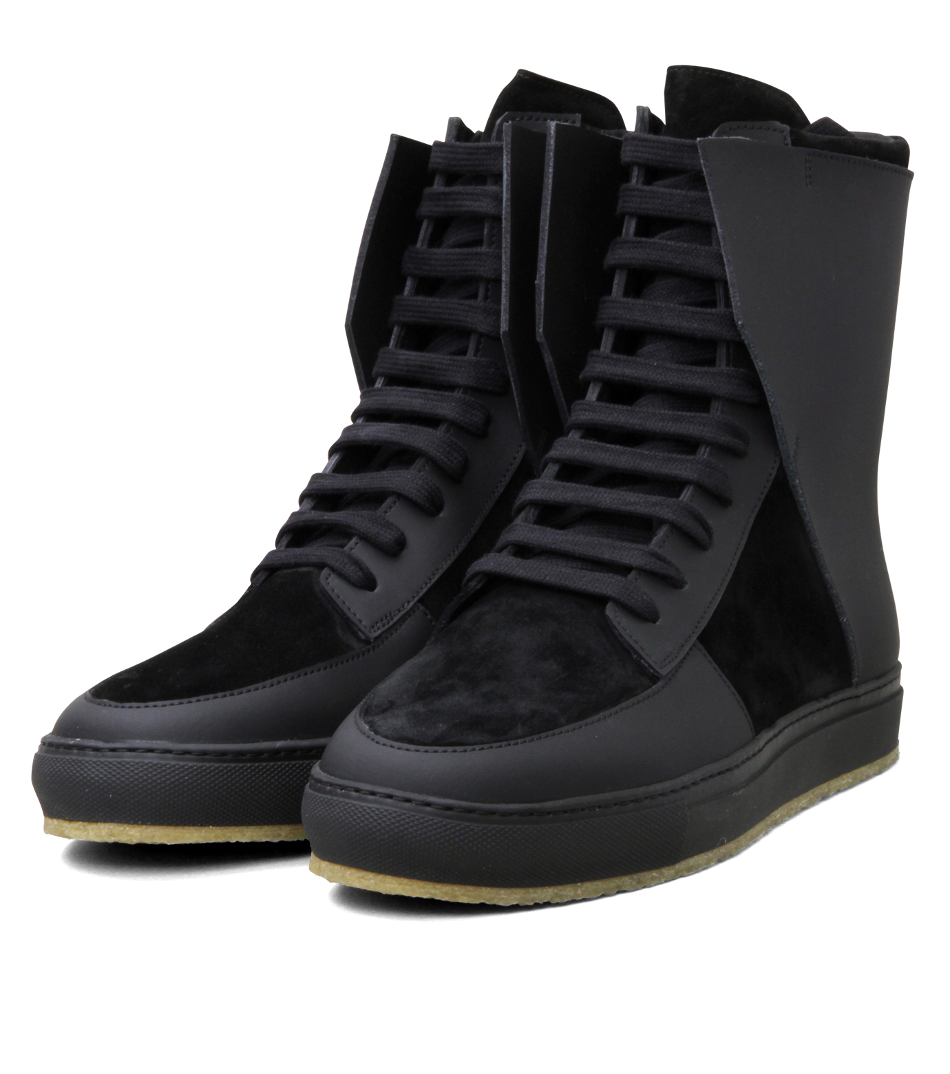 Kris Van Assche(クリスヴァンアッシュ)のLibra Black Sneaker-BLACK-K2709 拡大詳細画像4