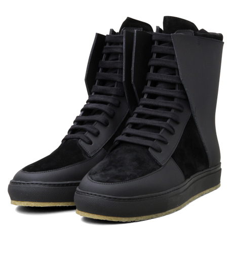 Kris Van Assche(クリスヴァンアッシュ)のLibra Black Sneaker-BLACK-K2709 詳細画像4