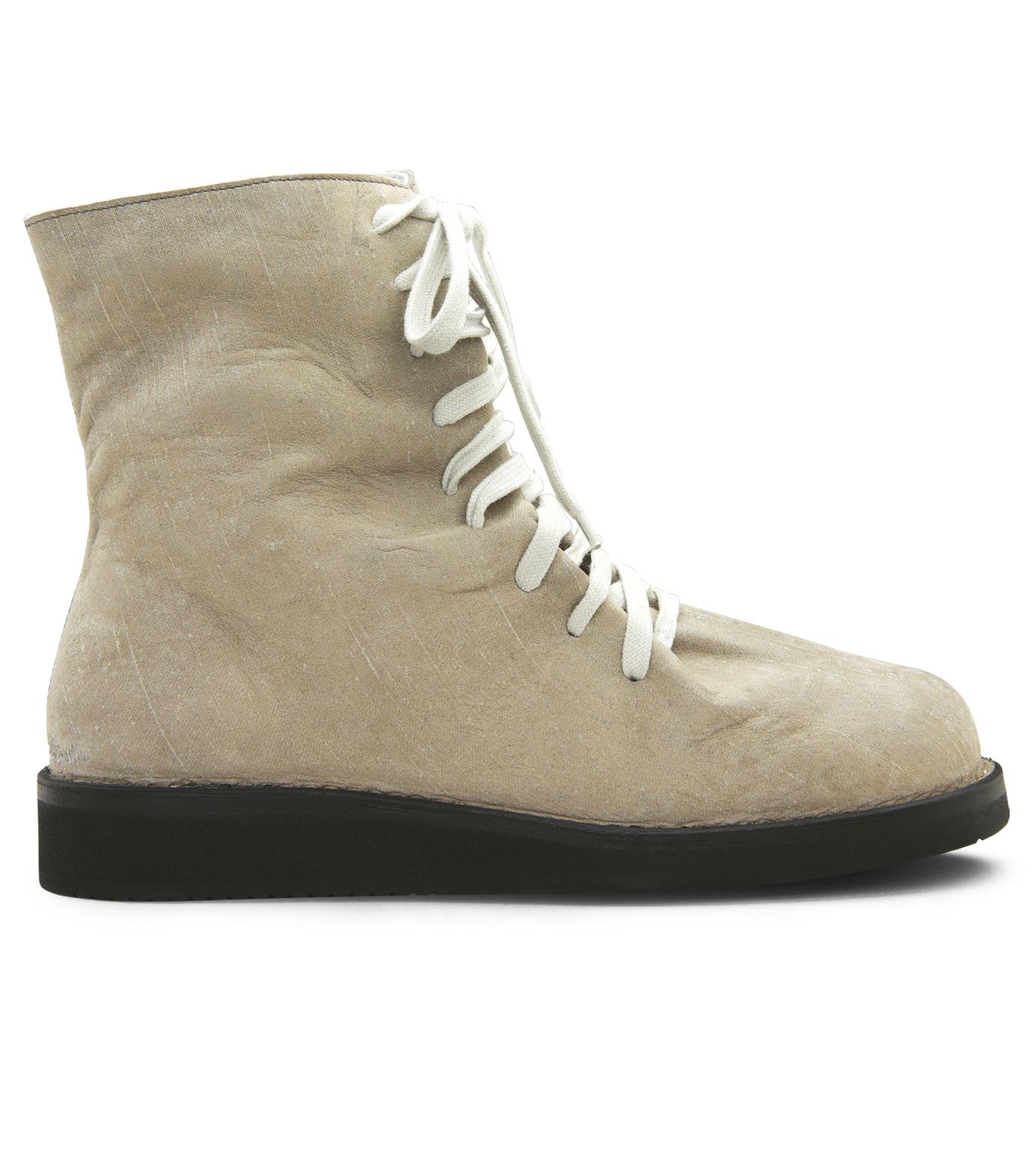 Kris Van Assche(クリスヴァンアッシュ)のLace Up Boots-GRAY-K2793 拡大詳細画像1