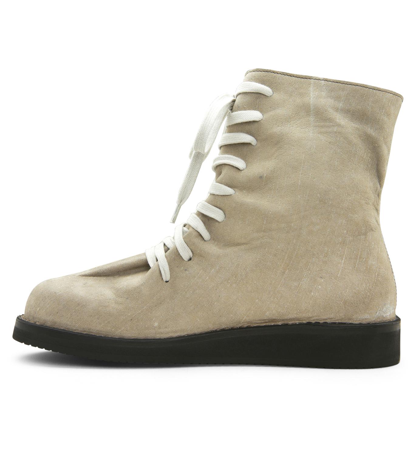 Kris Van Assche(クリスヴァンアッシュ)のLace Up Boots-GRAY-K2793 拡大詳細画像2