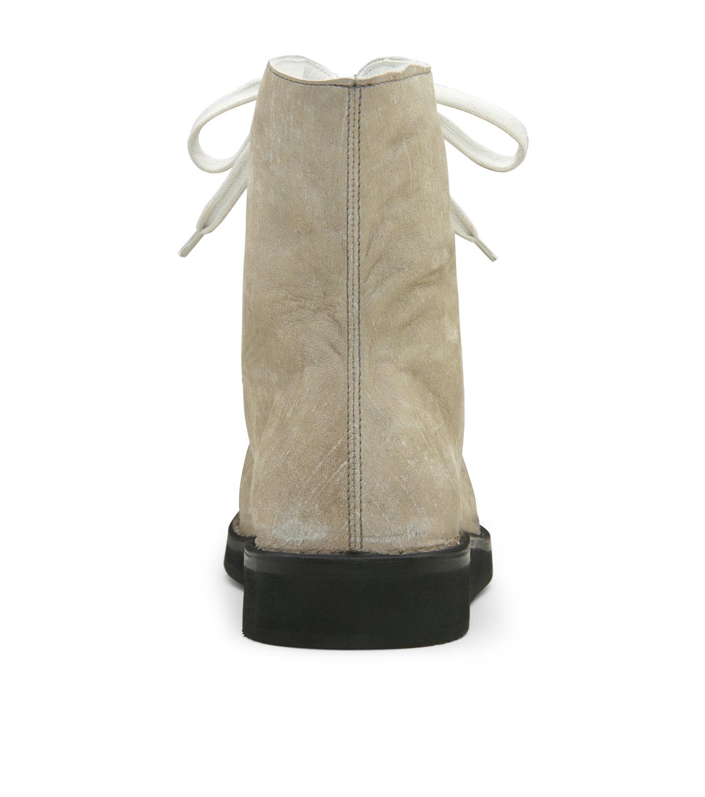 Kris Van Assche(クリスヴァンアッシュ)のLace Up Boots-GRAY-K2793 拡大詳細画像3