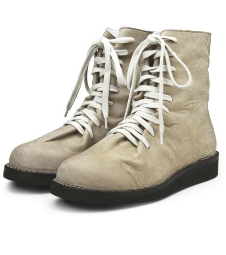 Kris Van Assche(クリスヴァンアッシュ)のLace Up Boots-GRAY-K2793 詳細画像4