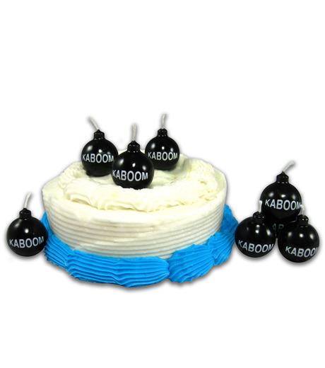 nuop design(ヌオップデザイン)のKaboom Candles-BLACK(キャンドル/candle)-KBM-13 詳細画像1