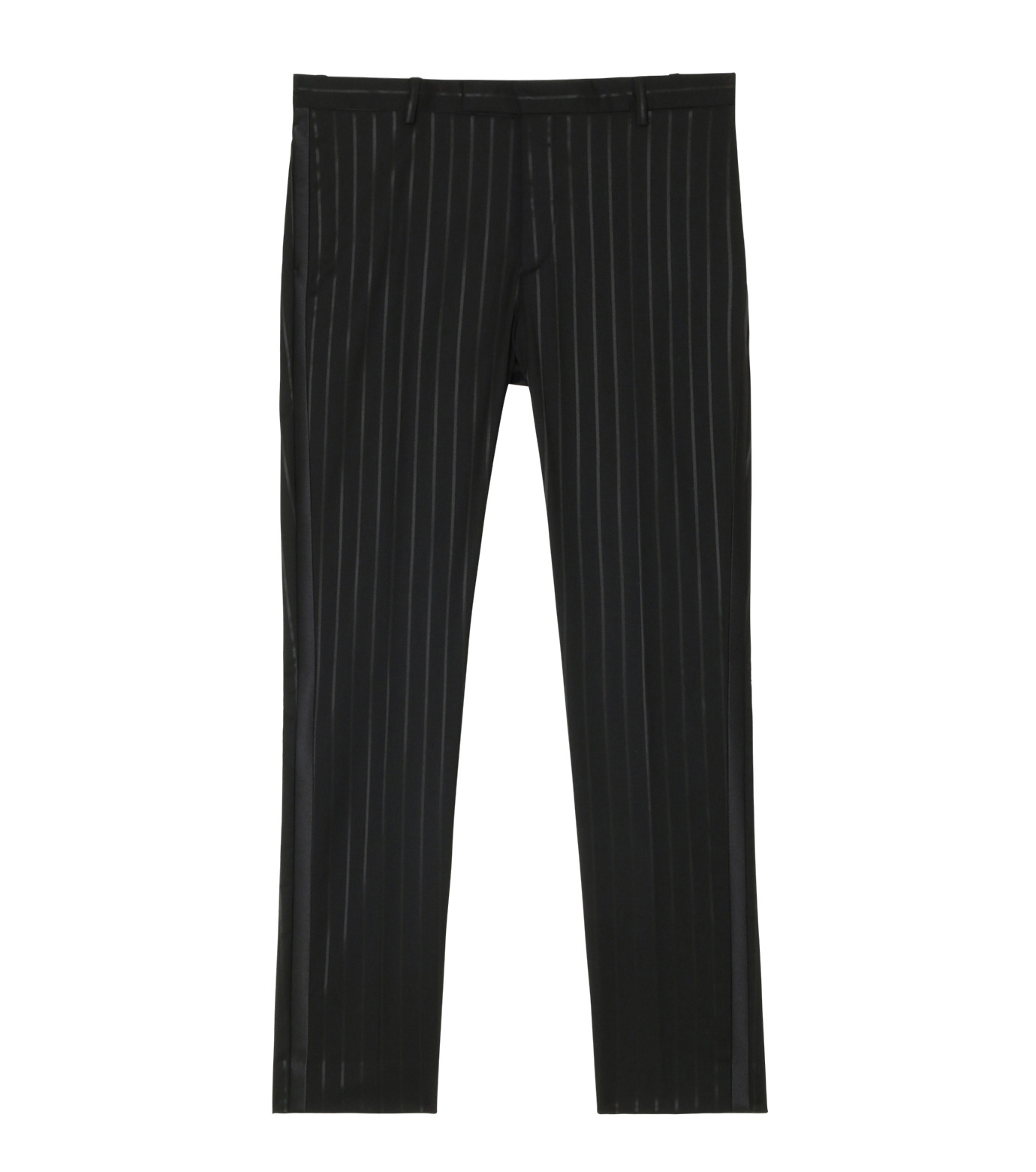 GARCONS INFIDELES(ギャルソン・インフィデレス)のStripe Trousers-BLACK(SUITS-PT/SUITS-PT)-KEITH-PANT-13 拡大詳細画像1