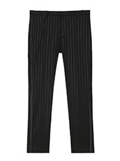 GARCONS INFIDELES Stripe Trousers