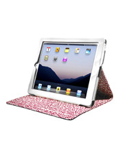 CASE SCENARIO KEITH HARING iPAD NUBUK STANDING BOOK CASE