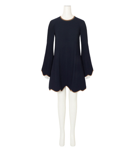 Roksanda(ロクサンダ)のGail Knit Dress-NAVY(ワンピース/one piece)-KH020-1-93 詳細画像1