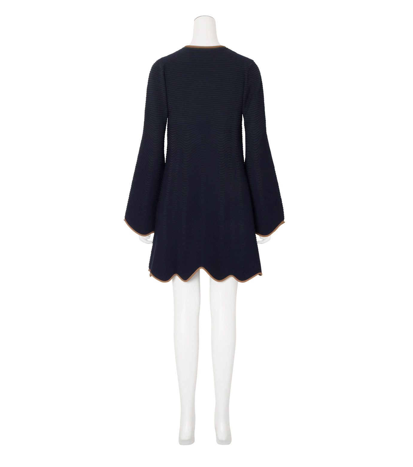 Roksanda(ロクサンダ)のGail Knit Dress-NAVY(ワンピース/one piece)-KH020-1-93 拡大詳細画像2