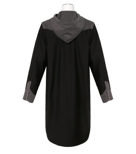 KIDILL(キディル)のWestern Hooded Shirt-BLACK(シャツ/shirt)-KL160-13 詳細画像2