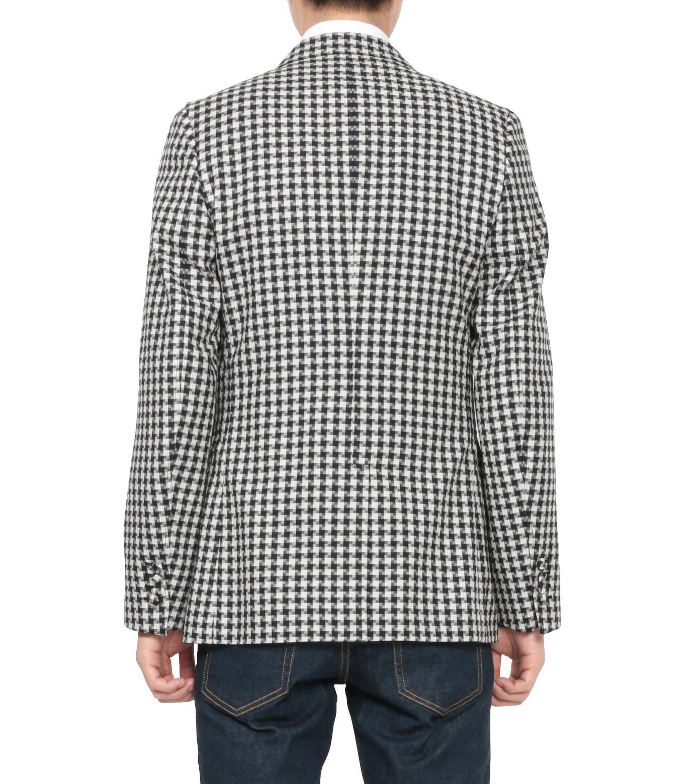MAISON KITSUNÉ(メゾンキツネ)のSheepherds Check Jacket-BLACK(ジャケット/jacket)-KMV0503-13 拡大詳細画像2