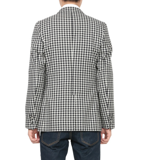 MAISON KITSUNÉ(メゾンキツネ)のSheepherds Check Jacket-BLACK(ジャケット/jacket)-KMV0503-13 詳細画像2