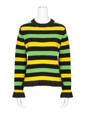 J.W.Anderson Striped Boucle Sweater