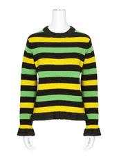 J.W.Anderson(ジェイダブリュー アンダーソン) Striped Boucle Sweater