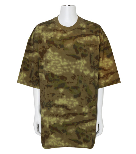 YEEZY(イージー)のHEAVY KNIT TEE-KHAKI(カットソー/cut and sewn)-KW3M100-101A-24 詳細画像1