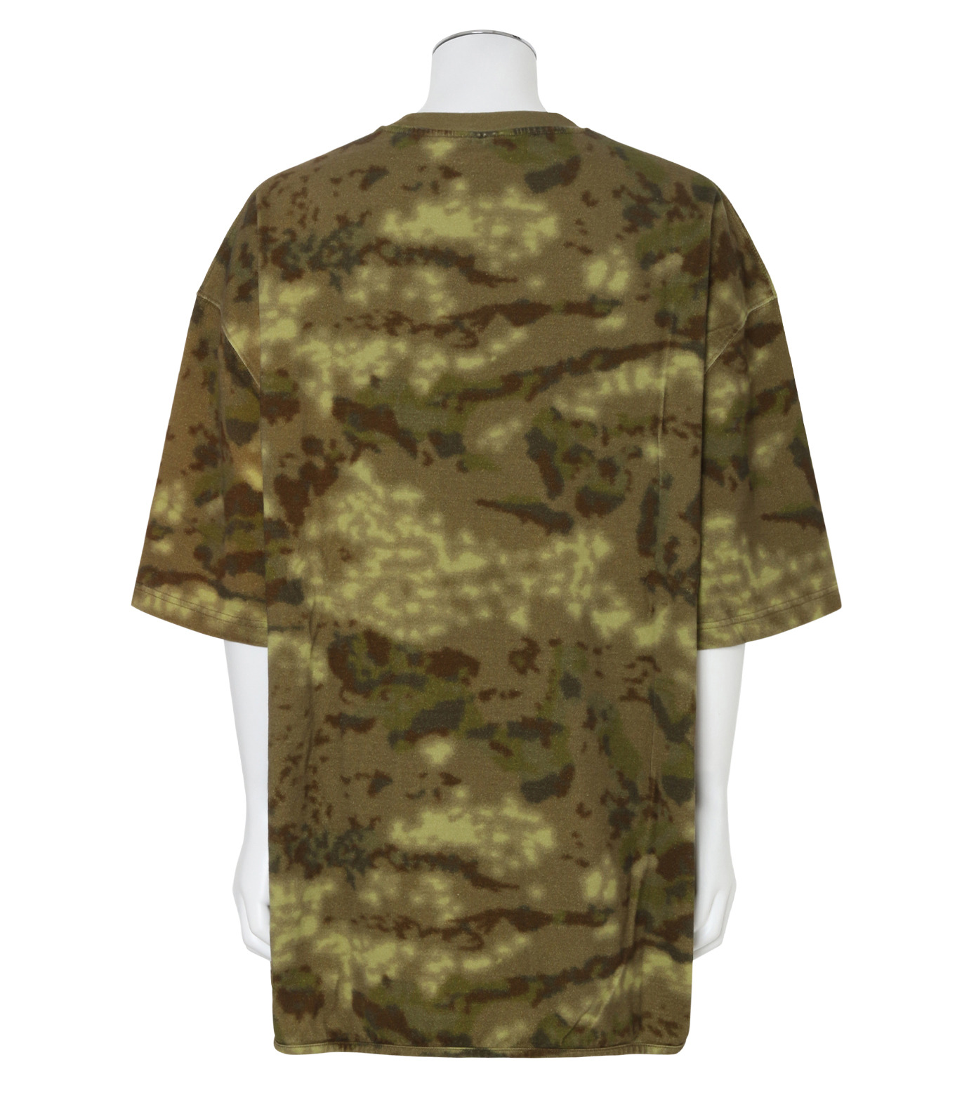 YEEZY(イージー)のHEAVY KNIT TEE-KHAKI(カットソー/cut and sewn)-KW3M100-101A-24 拡大詳細画像2