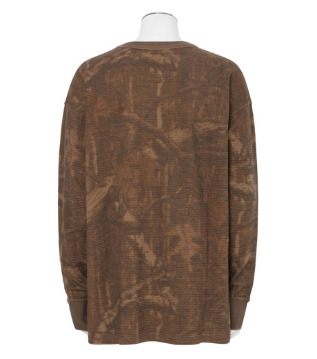 YEEZY(イージー)のTHERMAL LONG SLEEVE-KHAKI(カットソー/cut and sewn)-KW3M103-117-24 詳細画像2