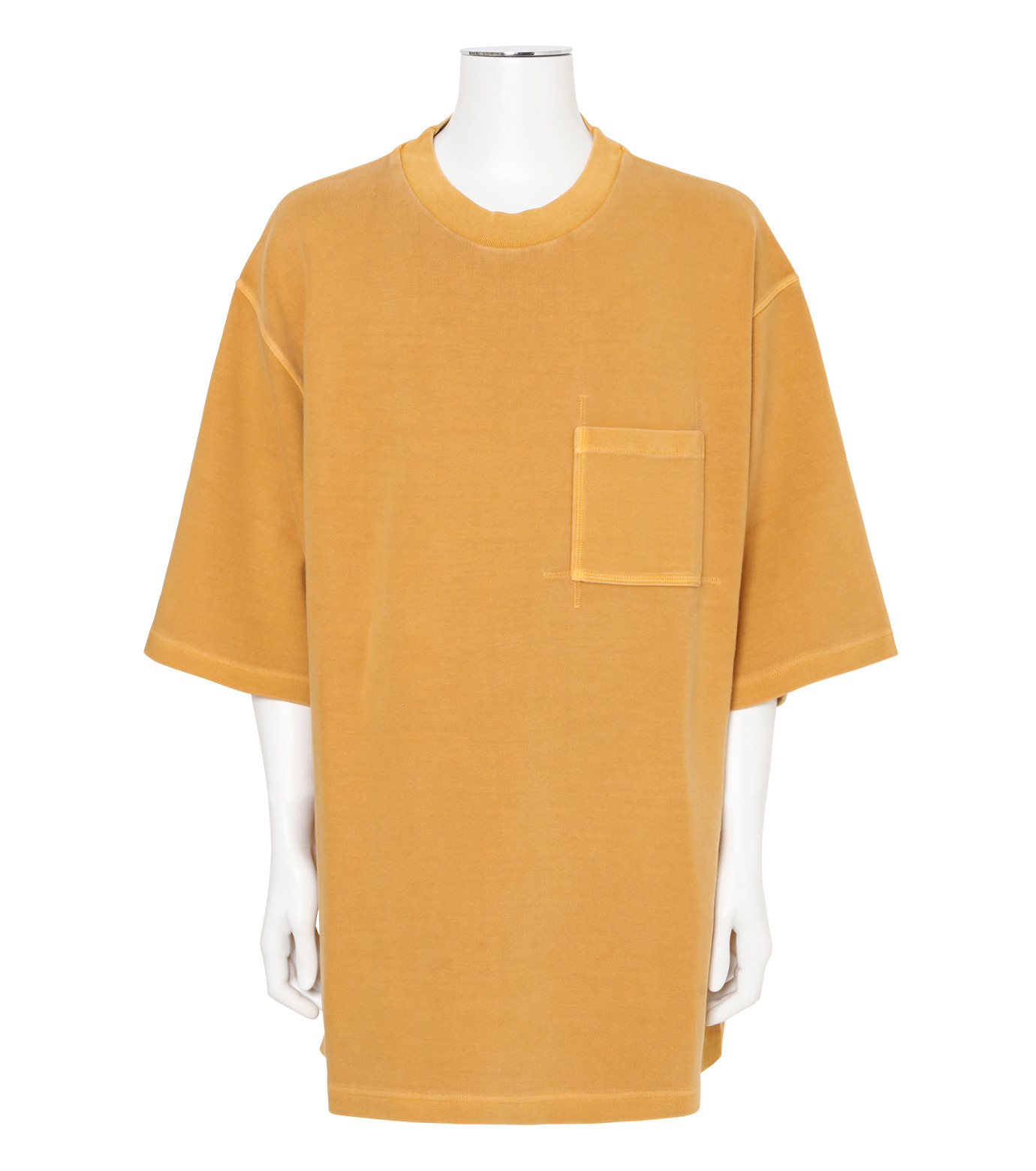 YEEZY(イージー)のRUGBY KNIT TEE-YELLOW(カットソー/cut and sewn)-KW3M106-105-32 拡大詳細画像1