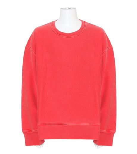 YEEZY(イージー)のCREWNECK SWEATSHIRT-RED(カットソー/cut and sewn)-KW3M209-107-62 詳細画像1