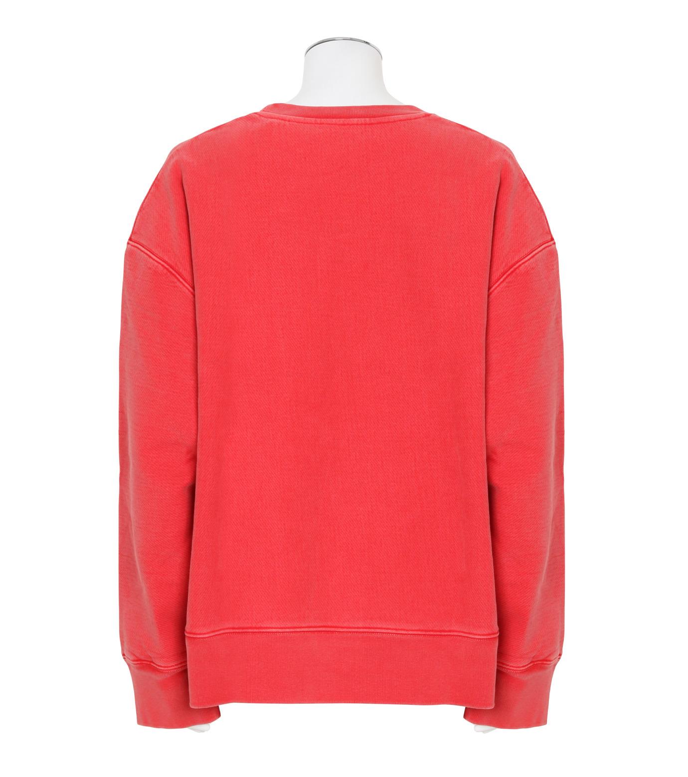 YEEZY(イージー)のCREWNECK SWEATSHIRT-RED(カットソー/cut and sewn)-KW3M209-107-62 拡大詳細画像2