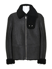 YEEZY SHEARLING FLIGHT COAT