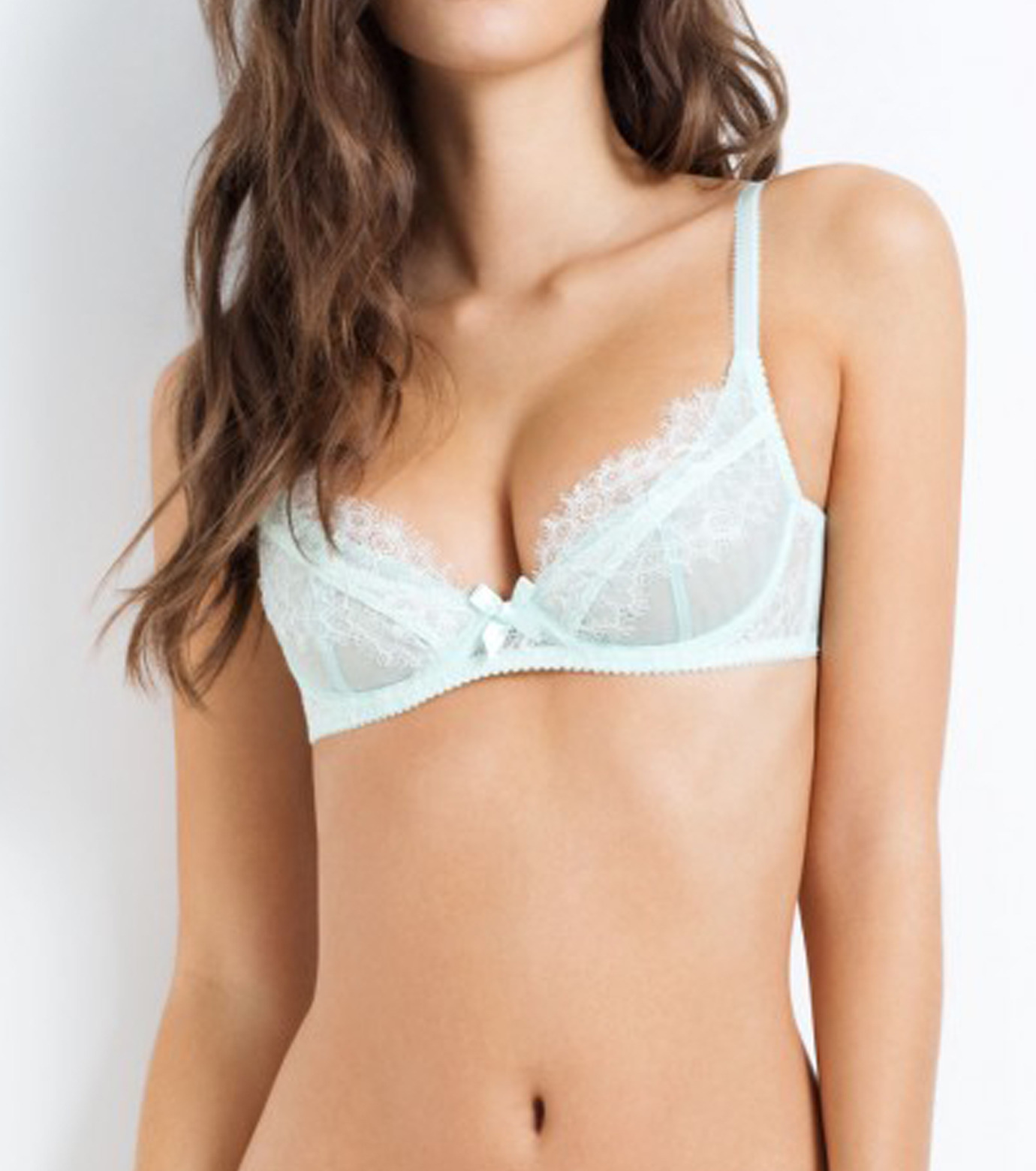 L'Agent by Agent Provocateur(ラジャン バイ エージェント プロヴォケイター)のidalia non pad demi mint-LIGHT BLUE(LINGERIE/LINGERIE)-L053-14-91 拡大詳細画像3