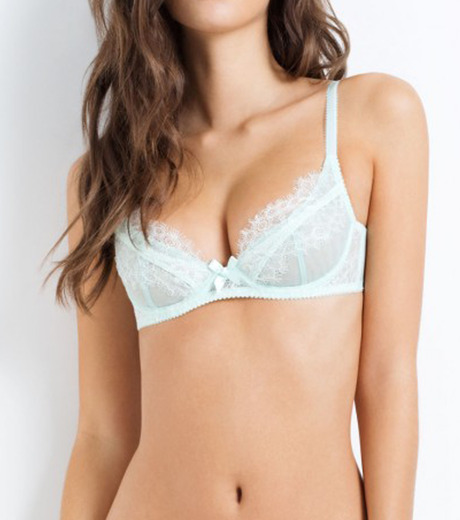 L'Agent by Agent Provocateur(ラジャン バイ エージェント プロヴォケイター)のidalia non pad demi mint-LIGHT BLUE(LINGERIE/LINGERIE)-L053-14-91 詳細画像3