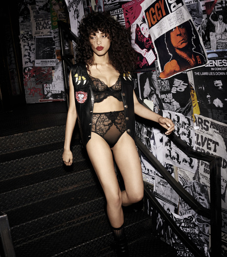 L'Agent by Agent Provocateur(ラジャン バイ エージェント プロヴォケイター)のLEOLA High Waisted Brief-BLACK(LINGERIE/LINGERIE)-L139-34-13 詳細画像5