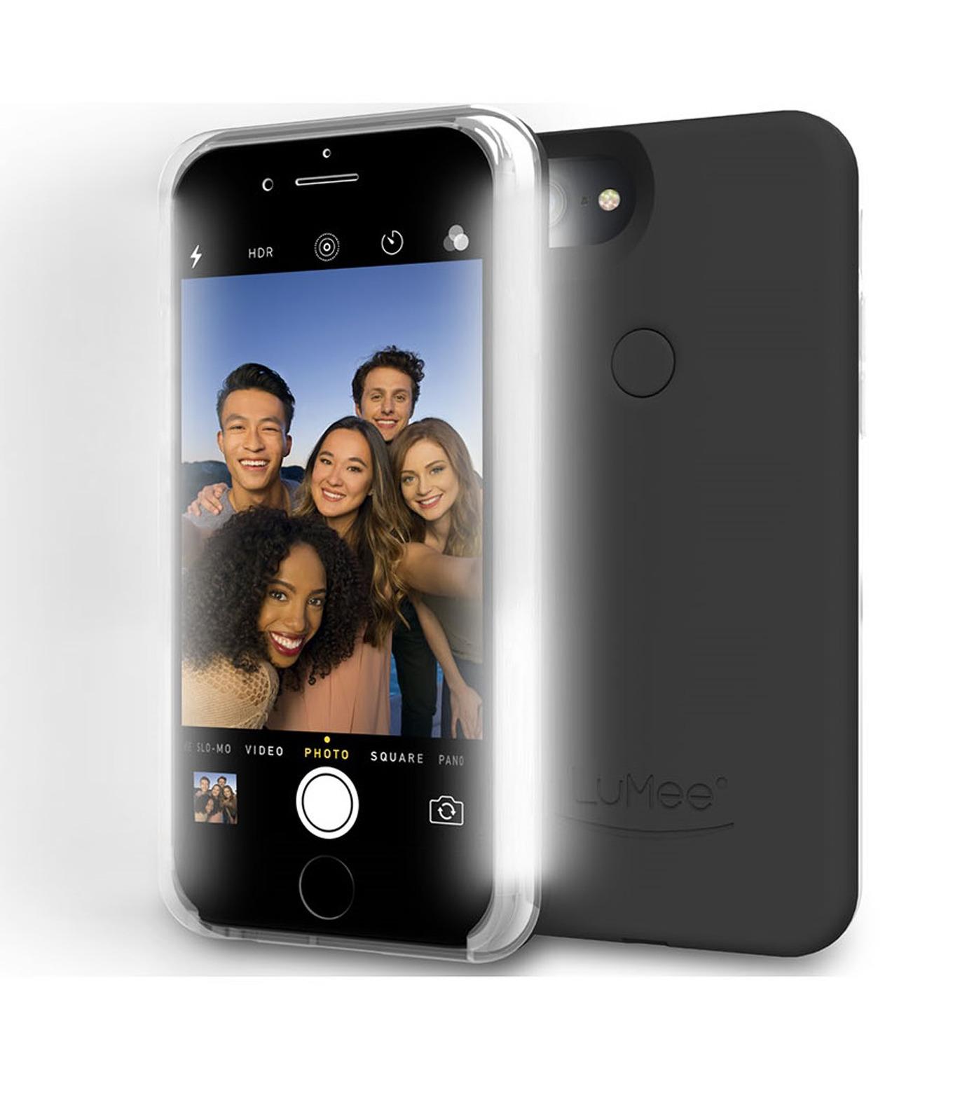 LuMee(ルーミー)のLuMee two iPhone 6/6s/7 -BLACK-BLACK(ケースiphone7/7plus/case iphone7/7plus)-L2-IP7-BLK-13 拡大詳細画像3