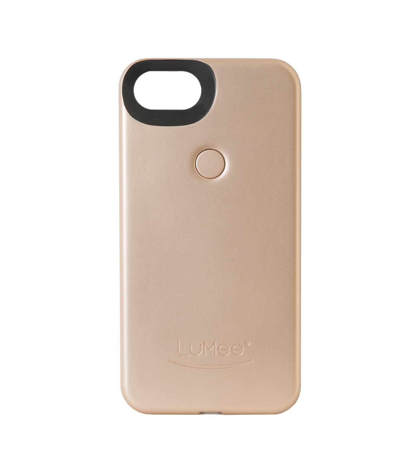 LuMee(ルーミー)のLuMee two iPhone 6/6s/7 - Gold Matte-GOLD(ケースiphone7/7plus/case iphone7/7plus)-L2-IP7-GOLDM-2 拡大詳細画像1