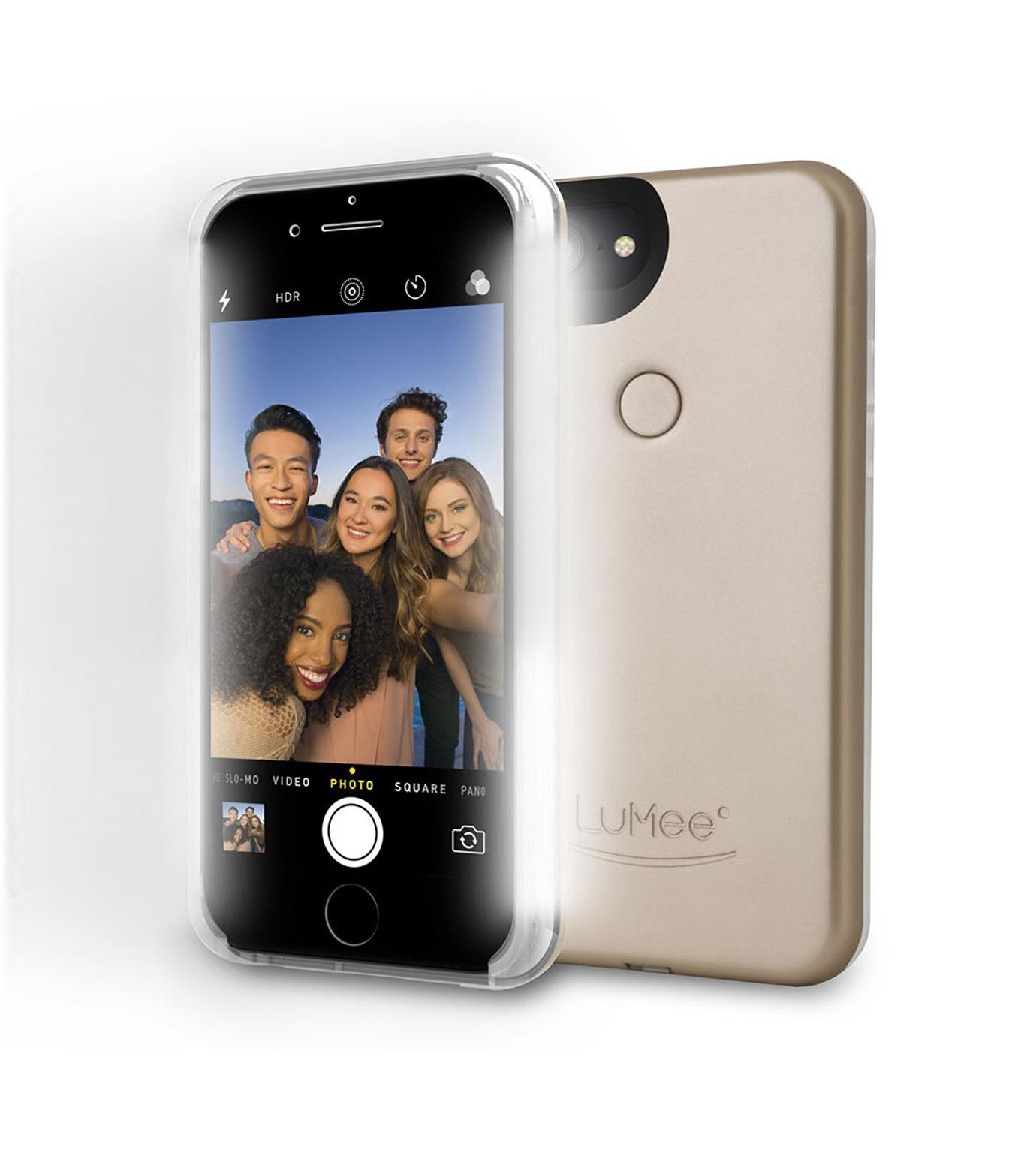 LuMee(ルーミー)のLuMee two iPhone 6/6s/7 - Gold Matte-GOLD(ケースiphone7/7plus/case iphone7/7plus)-L2-IP7-GOLDM-2 拡大詳細画像3