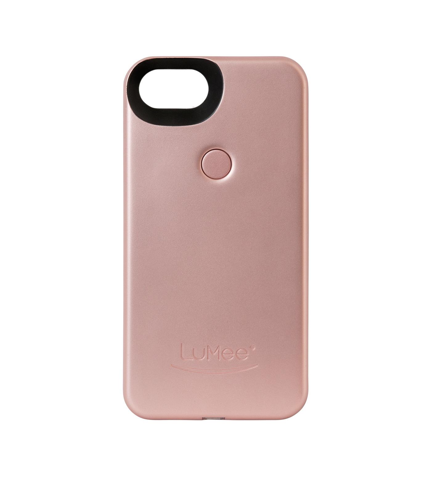 LuMee(ルーミー)のLuMee two iPhone 6/6s/7 -Rose Matte-ROSE(ケースiphone7/7plus/case iphone7/7plus)-L2-IP7-ROSEM-75 拡大詳細画像1