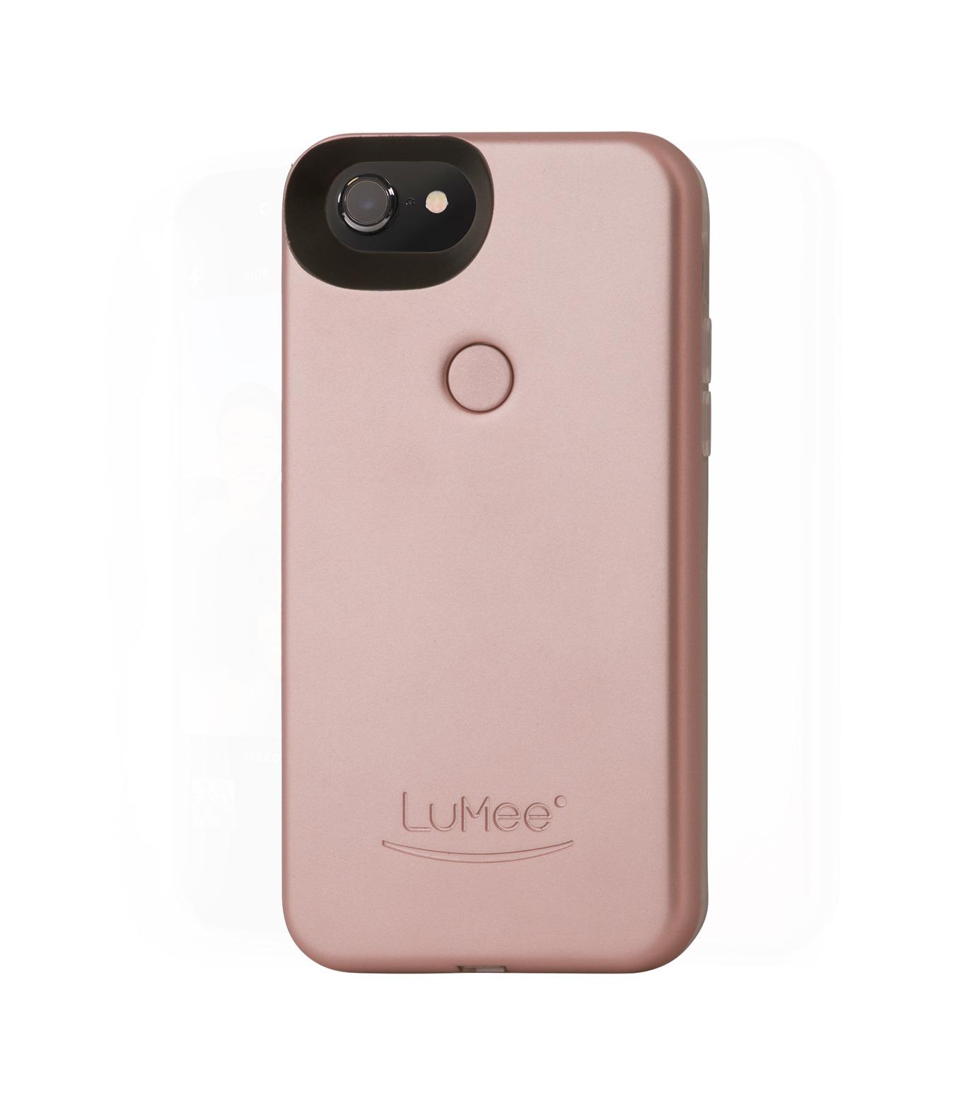 LuMee(ルーミー)のLuMee two iPhone 6/6s/7 -Rose Matte-ROSE(ケースiphone7/7plus/case iphone7/7plus)-L2-IP7-ROSEM-75 拡大詳細画像2