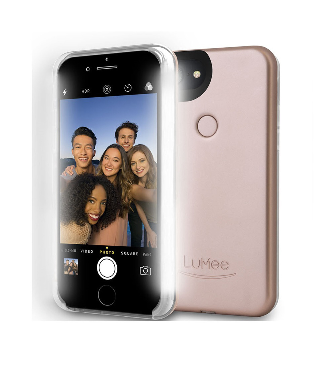 LuMee(ルーミー)のLuMee two iPhone 6/6s/7 -Rose Matte-ROSE(ケースiphone7/7plus/case iphone7/7plus)-L2-IP7-ROSEM-75 拡大詳細画像3