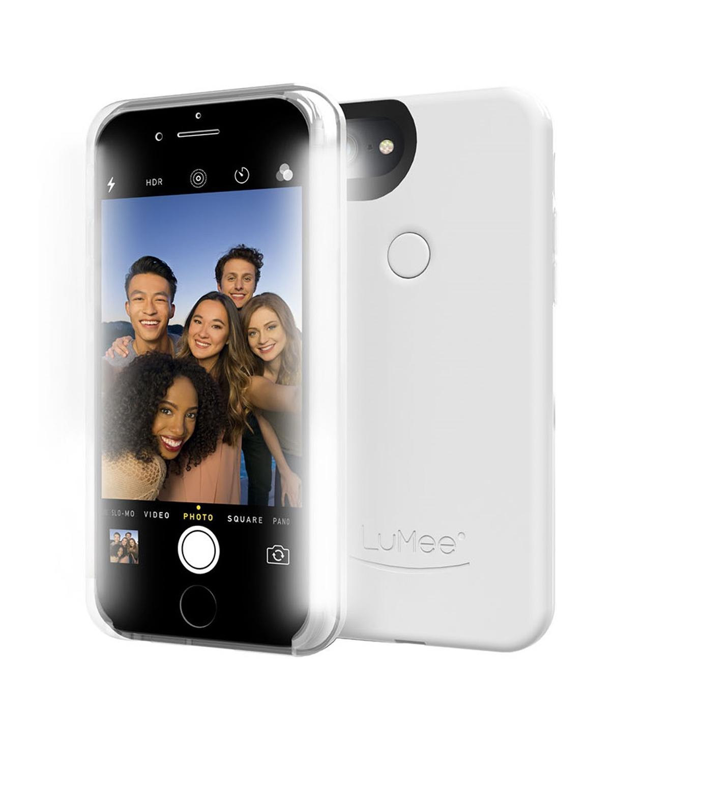 LuMee(ルーミー)のLuMee two iPhone 6/6s/7 White Gloss-WHITE(ケースiphone7/7plus/case iphone7/7plus)-L2-IP7-WHTGL-4 拡大詳細画像3