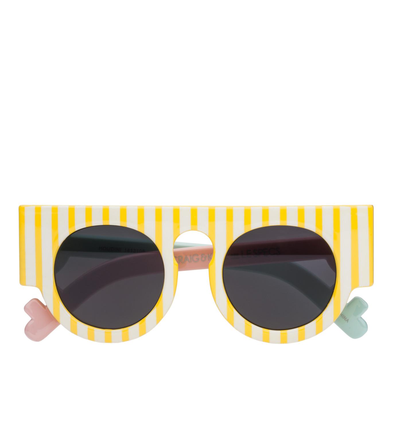 Craig&Karl(クレイグ アンド カール)のHoudini Gloss Yellow Stripe-YELLOW(アイウェア/eyewear)-LCK1413108-32 拡大詳細画像2