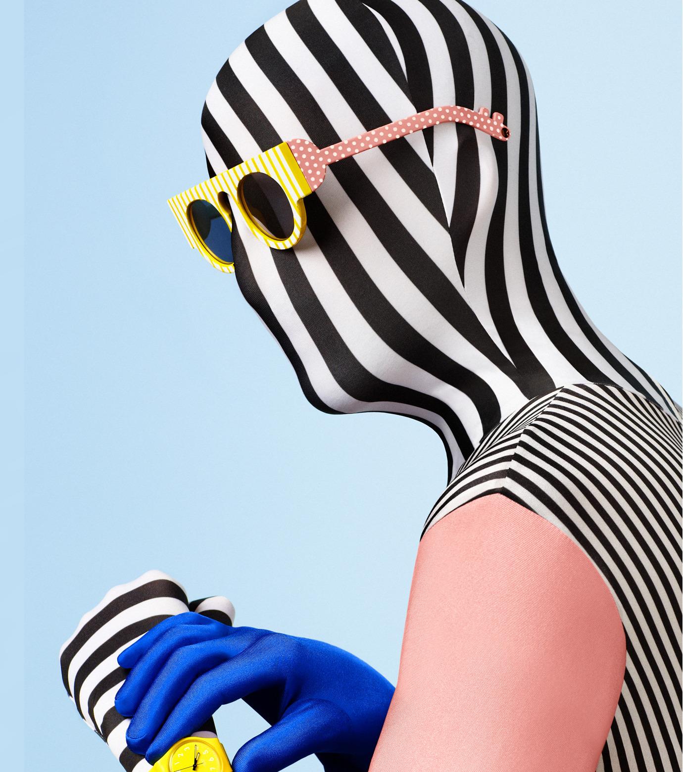 Craig&Karl(クレイグ アンド カール)のHoudini Gloss Yellow Stripe-YELLOW(アイウェア/eyewear)-LCK1413108-32 拡大詳細画像3