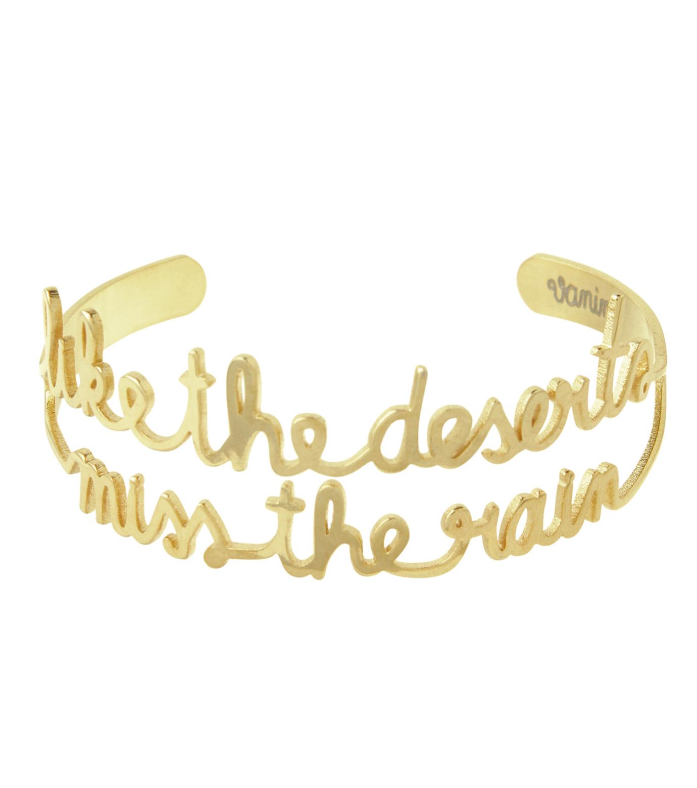 VANINA(バニーナ)のLike Deserts miss Rain Bracelet-GOLD(アクセサリー/accessory)-LIKE-Dese-L 拡大詳細画像1