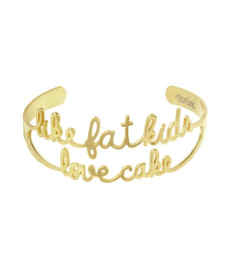 VANINA(バニーナ)のLike Fat Kids Love Cake Bracelet-GOLD(アクセサリー/accessory)-LIKE-Kids-L 詳細画像1