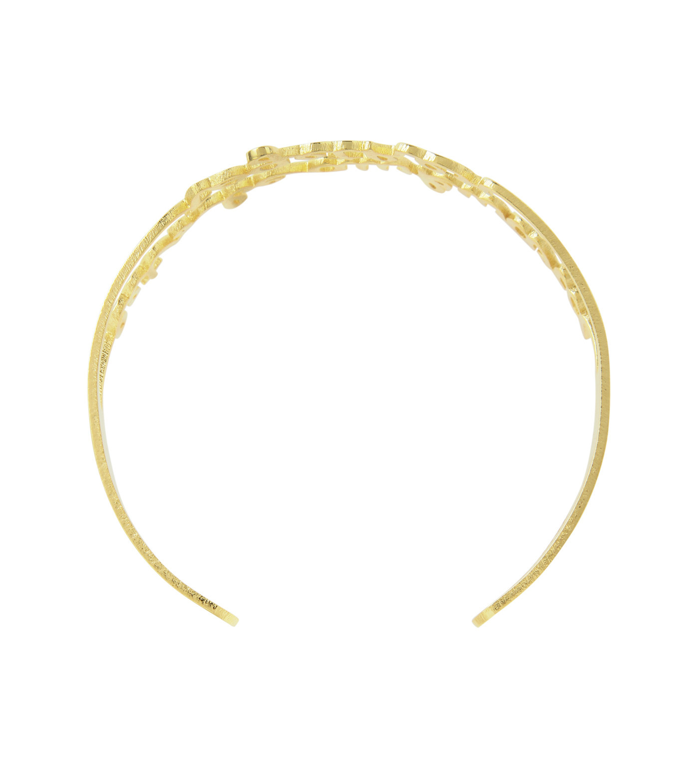 VANINA(バニーナ)のTo the Moon and Back Bracelet-GOLD(アクセサリー/accessory)-LIKE-Moon-L 拡大詳細画像3