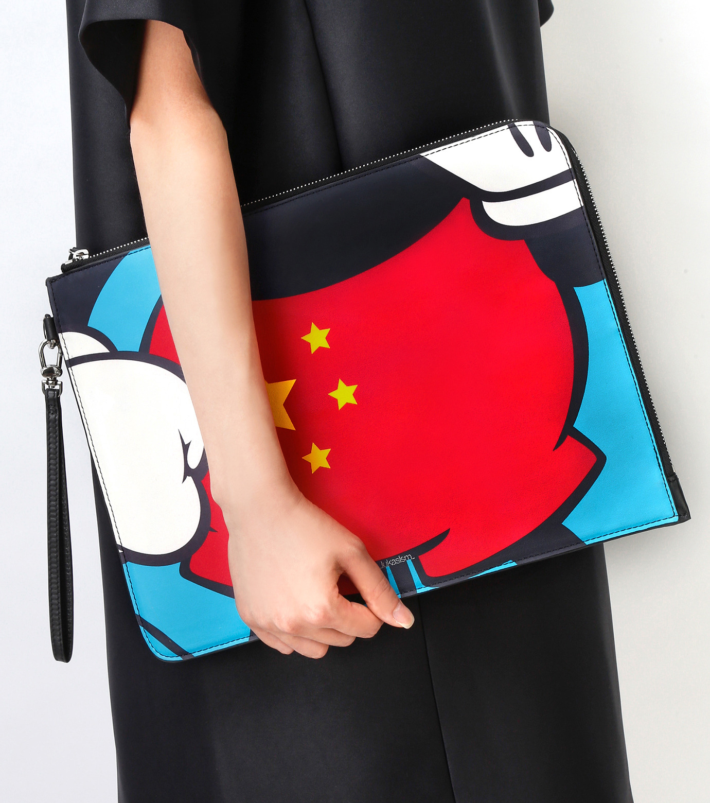 PAPRIKA(パプリカ)のChinese Fancy Pants Cluthbag-MULTI COLOUR(クラッチバッグ/clutch bag)-LKCP-H526-9 拡大詳細画像5