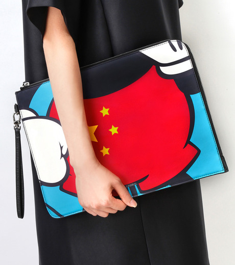 PAPRIKA(パプリカ)のChinese Fancy Pants Cluthbag-MULTI COLOUR(クラッチバッグ/clutch bag)-LKCP-H526-9 詳細画像5