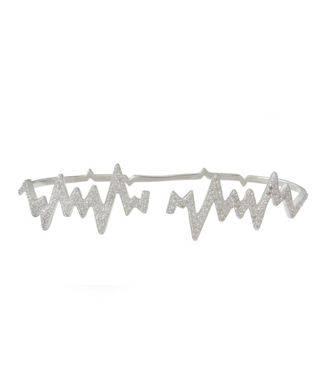 Priyanka(プリヤンカ)のLifeline Handcaff-SILVER(ブレスレット/bracelet)-LLA-01-1 詳細画像1