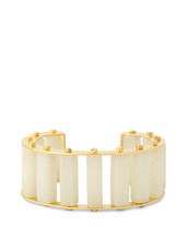 Lele Sadoughi Stone Column Slinder Bangle