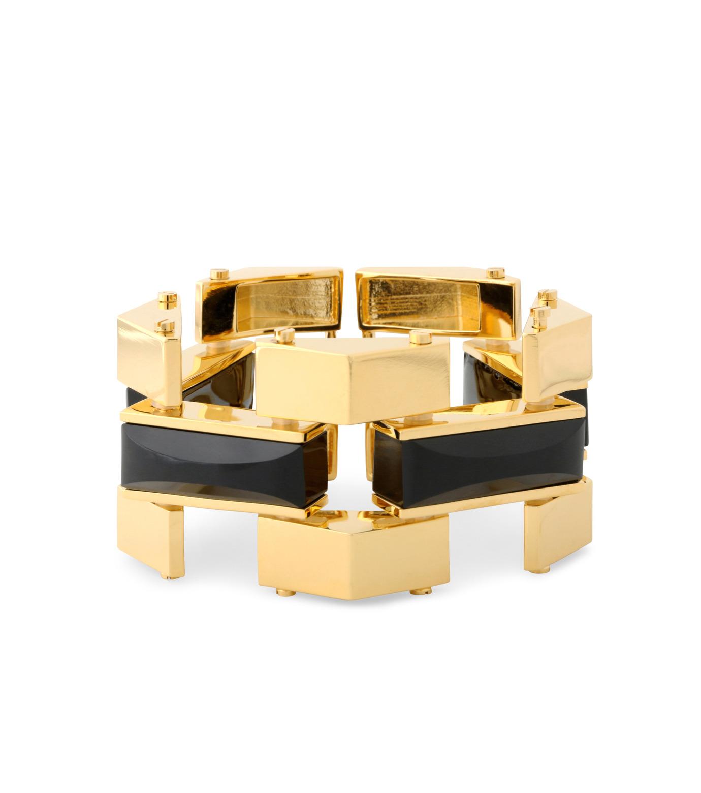 Lele Sadoughi(レレ・サドイ)のSandbar Bracelet-BLACK(ブレスレット/bracelet)-LS0311JT-13 拡大詳細画像1