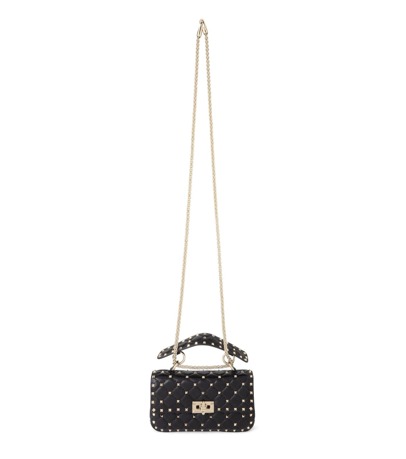 VALENTINO GARAVANI(ヴァレンティノ ガラヴァーニ)のRockstud Matelasse Small-BLACK(ショルダーバッグ/shoulder bag)-LW0B0123NAP-13 拡大詳細画像1