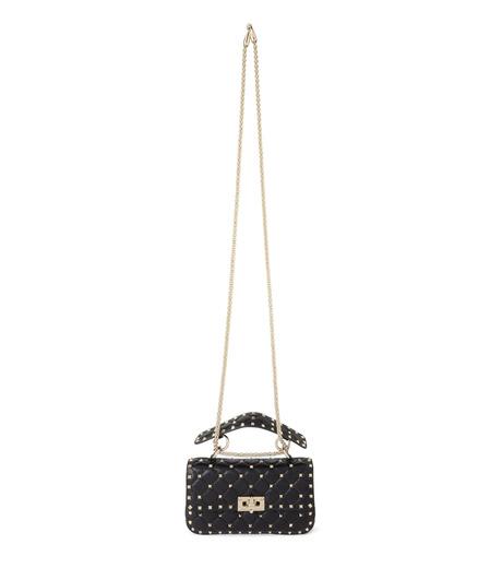 VALENTINO GARAVANI(ヴァレンティノ ガラヴァーニ)のRockstud Matelasse Small-BLACK(ショルダーバッグ/shoulder bag)-LW0B0123NAP-13 詳細画像1