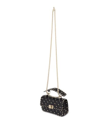 VALENTINO GARAVANI(ヴァレンティノ ガラヴァーニ)のRockstud Matelasse Small-BLACK(ショルダーバッグ/shoulder bag)-LW0B0123NAP-13 詳細画像2