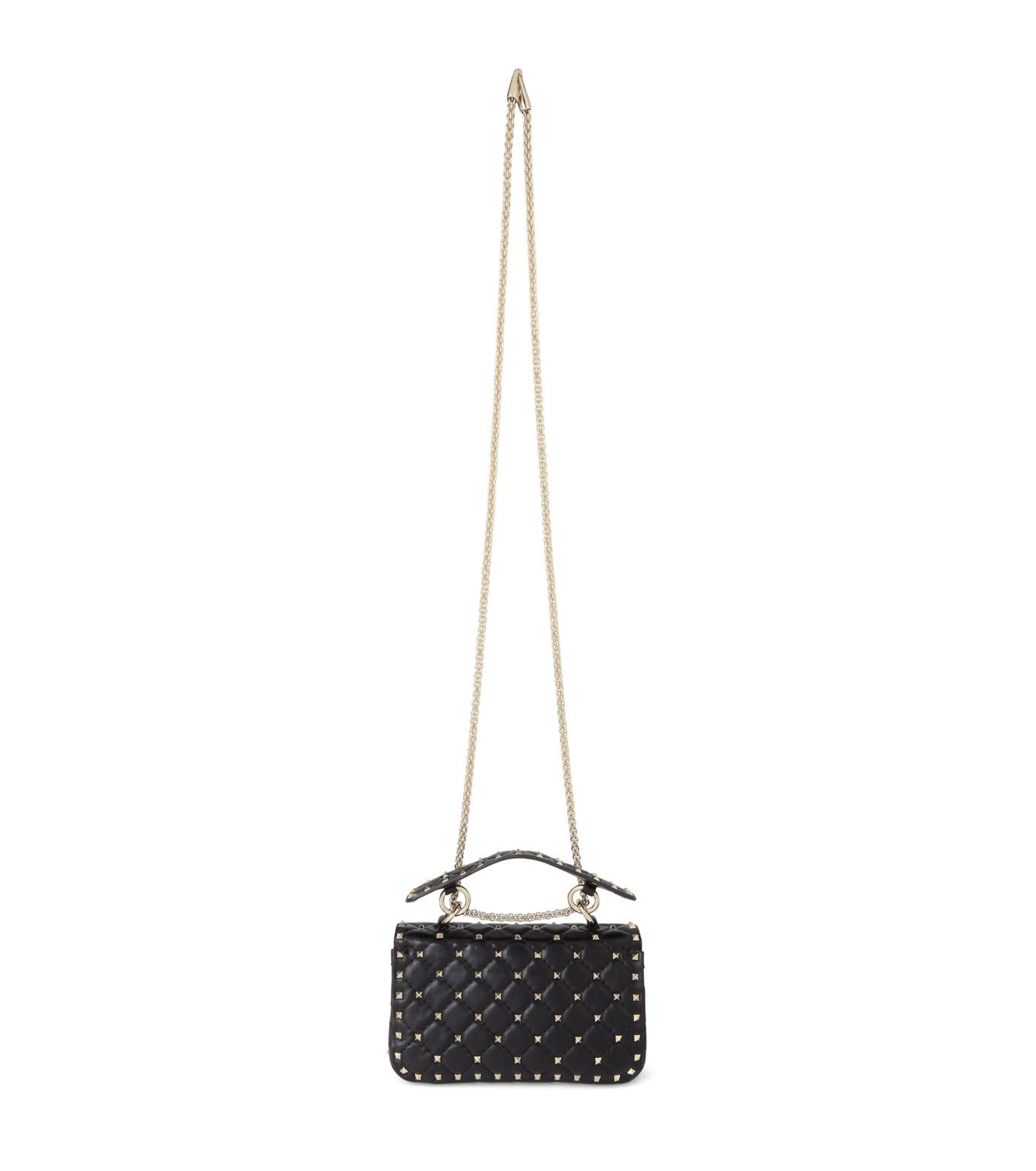 VALENTINO GARAVANI(ヴァレンティノ ガラヴァーニ)のRockstud Matelasse Small-BLACK(ショルダーバッグ/shoulder bag)-LW0B0123NAP-13 拡大詳細画像3